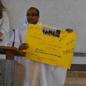 Wünsche für unsere Kirche von der Klasse 6 des Jagsttalschulverbunds
